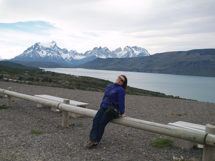 Park national towers of the Paine Patagonia Chilena. Region XI Magellan, Chile.