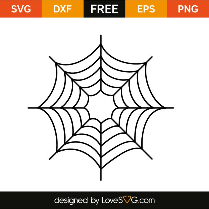 *** FREE SVG CUT FILE for Cricut, Silhouette and more *** Spider monogram frame