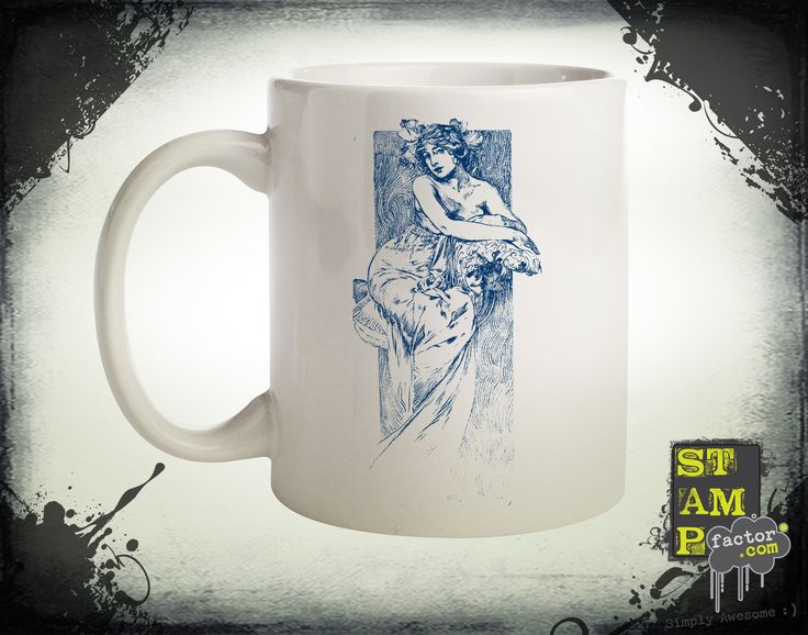 Nymph (Dark Midnight Blue) 2014 Collection - © stampfactor.com *MUG PREVIEW*