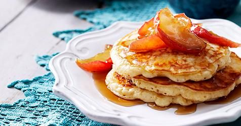 Our fluffy buttermilk pancake recipes include toppings like blueberries, pears and even chocolate, as well as some healthy options from classic Australian recipes.