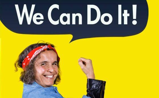 We can do it #jokesmit #aanmoediging #goodplace2work #noella #ondernemen #community #groeien #versterkjeondernemerschap