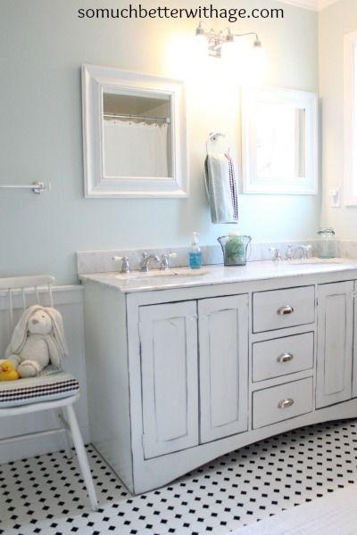 real wood custom vanities for less kids bathroom paint