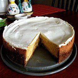 Bourbon Pumpkin Cheesecake | Desserts and Baking | Pinterest