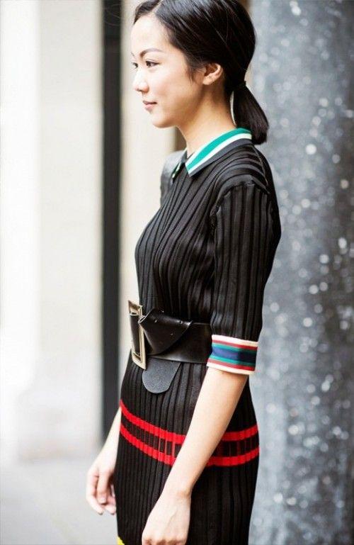13 Chic And Stylish Ways To Wear An Oversized Belt | Styleoholic