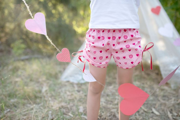 """""""Little Miss Fancy Pants"""" Side rouched shorts by Twinkle Star!"""