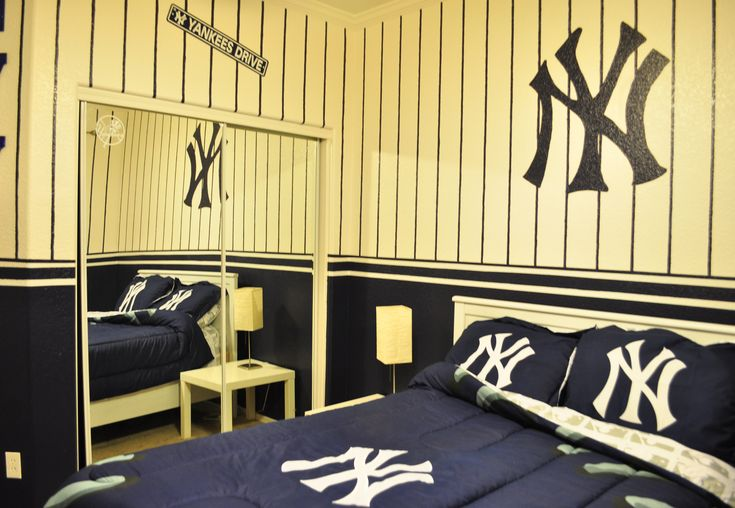 New York Yankees Kids Bedroom Id Do This For My Room Not