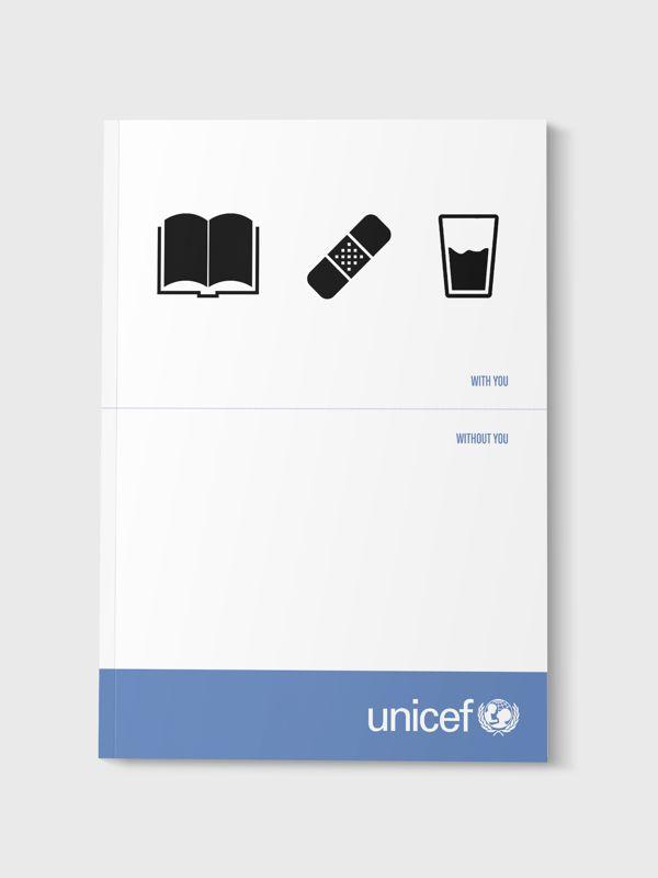 Unicef Brochure on Behance