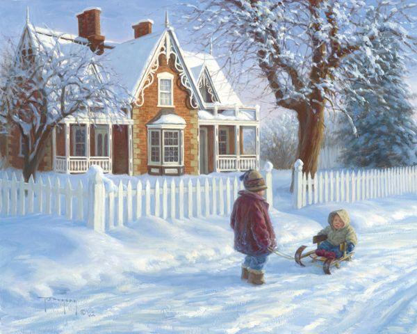 Emma's Sleigh Ride by Robert Duncan