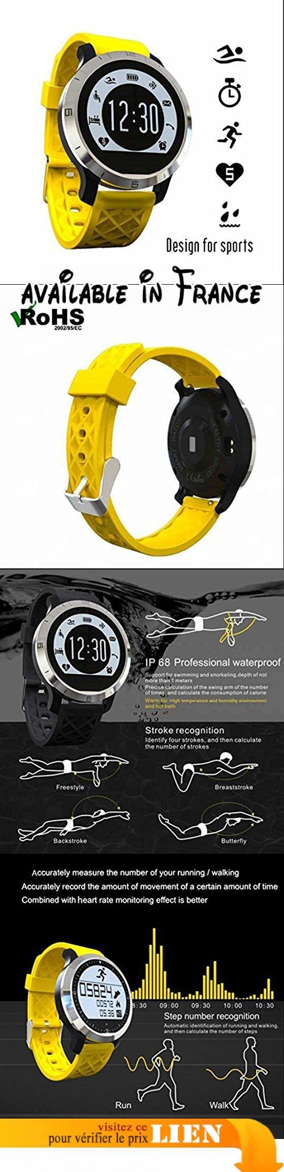 Smartwatch antiperte, podomètre suivi Calorie Santé, DE