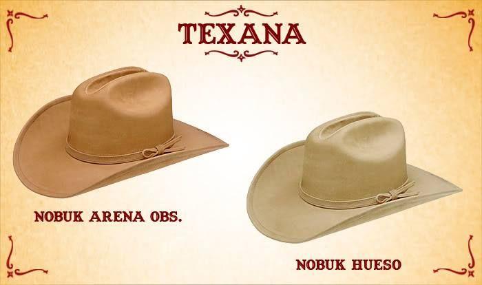 #Sombreros modelo texana, arena y hueso.