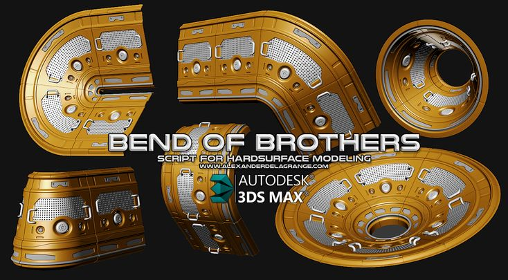 Bend Of Brothers Discussion (3DsMaxTool) - Polycount Forum