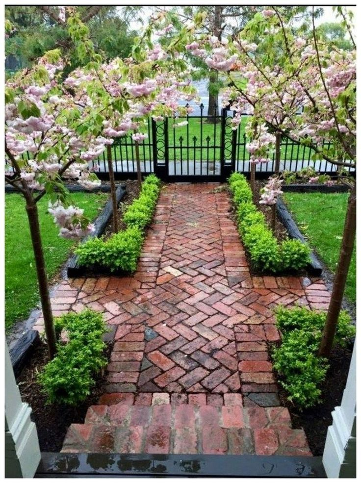 45 Cute Front Yard Courtyard Landscaping Ideas   Front ...