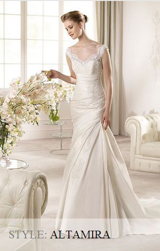 San Patrick Wedding Gown - Glamour Collection 2013 - Altamira