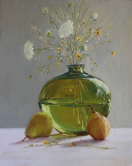 Courtland's Harvest by Kathleen Dunphy Oil ~ 20 x 16
