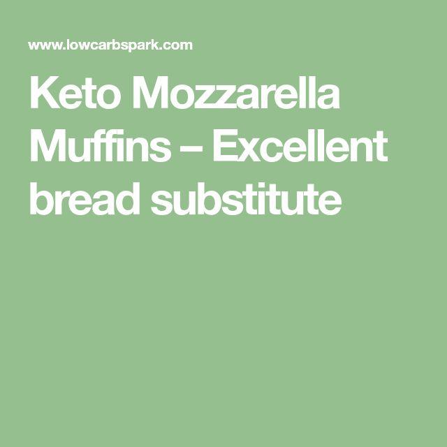 Keto Mozzarella Muffins – Excellent bread substitute