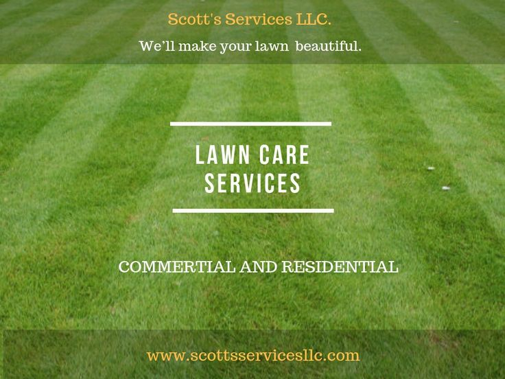 Scott's Services LLC. offer affordable and professional