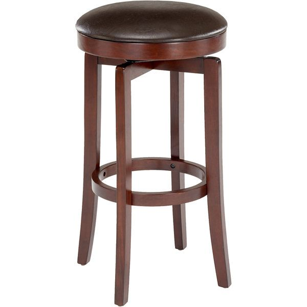malone swivel backless barstool jcpenney