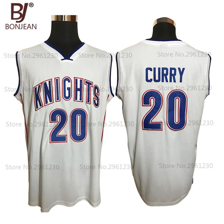 Mens and Kids Cheap Stephen Curry 20# 30# Charlotte Christian Knights High School Basketball Jersey Stitched Throwback Shirts