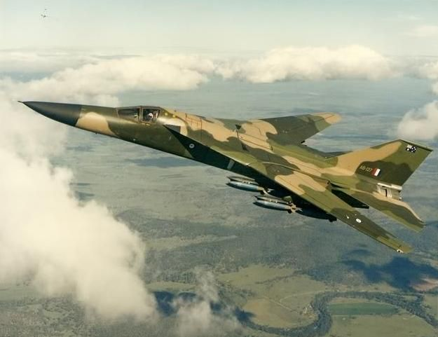 F111 Fighter Jet Queensland