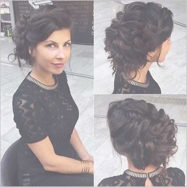Loose Updo Curly Hair