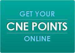 Nursing continuing professional development CNE points