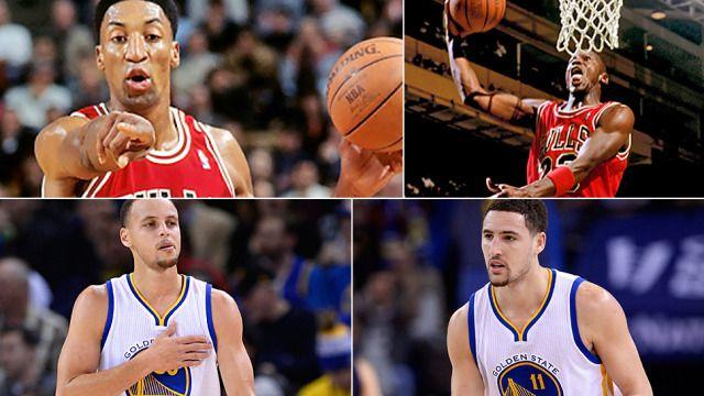 Splash Brothers jak Pippen i Jordan? Warriors celują w 70 zwycięstw w sezonie. http://sport.tvn24.pl/koszykowka,117/nba,134/golden-state-warriors-jak-chicago-bulls-wojownicy-moga-wygrac-70-spotkan,504906.html