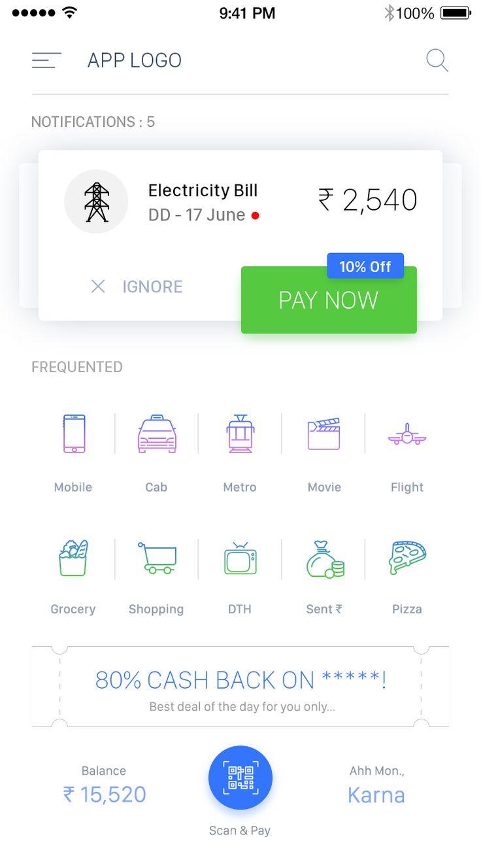 Digital Wallet UI KIT – iOSUp