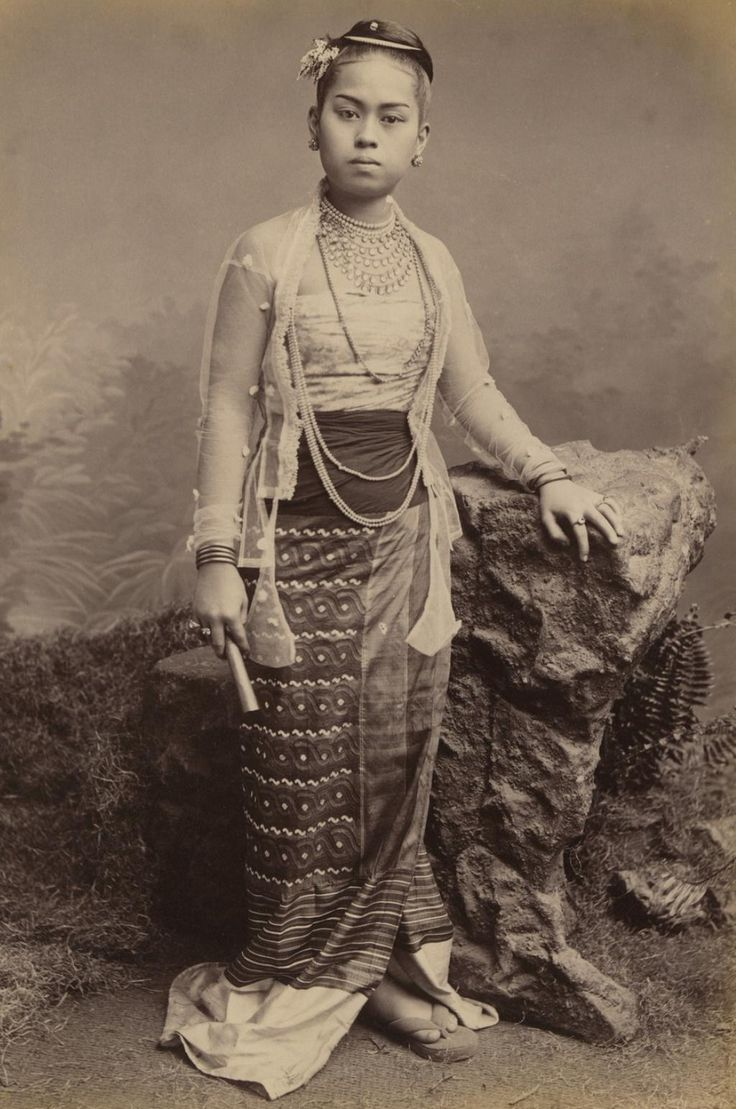 Young Burmese Girl, 1875