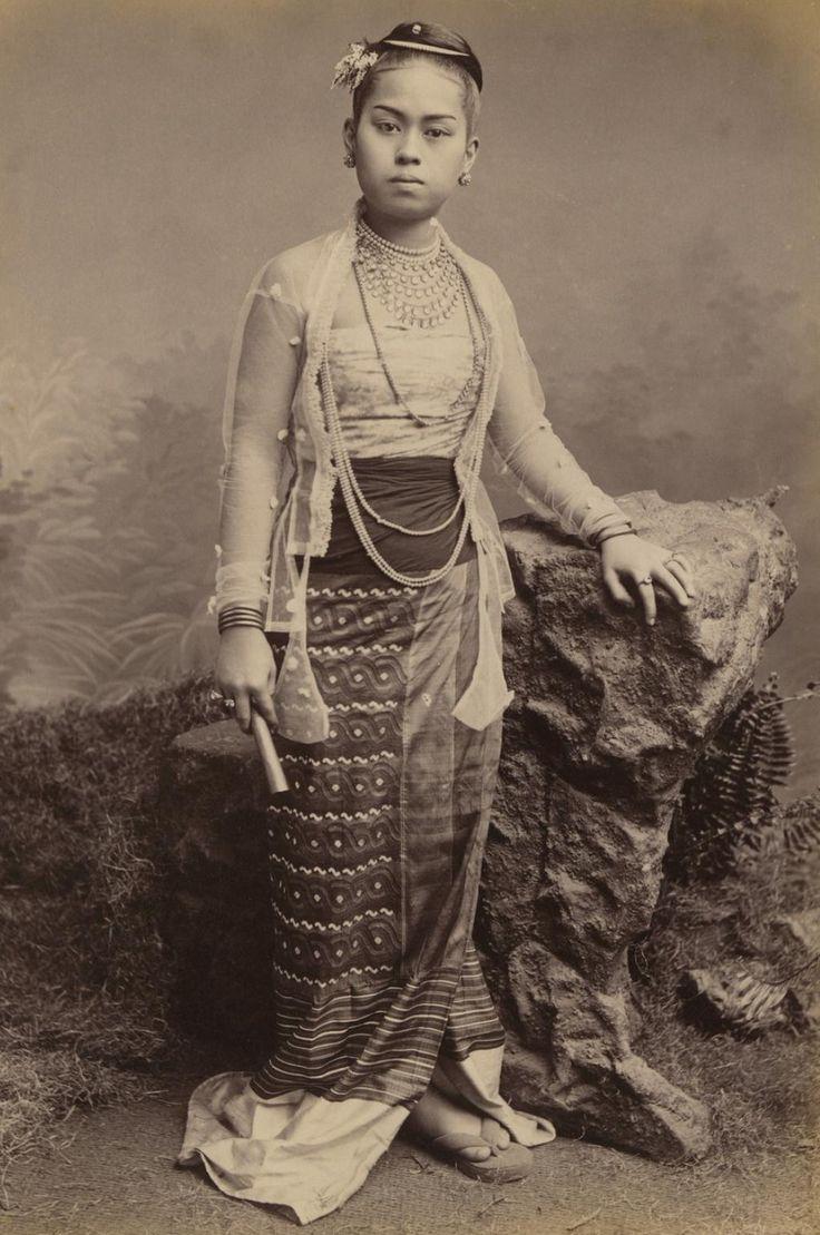 Young Burmese Girl, 1875