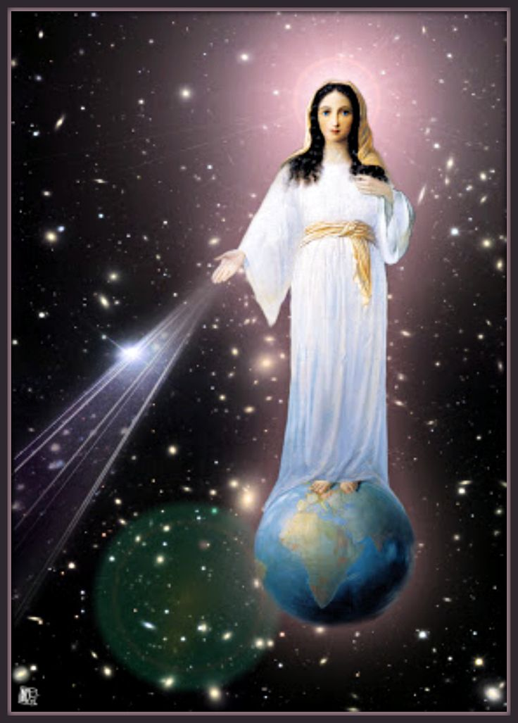 """Our Blessed Mother visits Earth with her apparitions, she intercedes for her Son & God Almighty. The Blessed Mother never said she is """"The Way, the Truth,and the Life..."""" instead she directs us to the way, the truth & the life who is Christ by pleading for constant prayers, conversion of souls & penance, during her apparitions. She has appeared on Earth more in the 20th Century than any other century. There have been several accounts of her miraculous wonders during her worldly apparitions"""