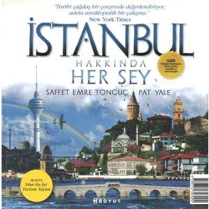 İstanbul hakkında bugüne dek yazılmış en kapsamlı, en güncel ve en zengin görsel içeriğe sahip gezi rehberi. 3000 fotoğraf, illüstrasyon, harita, gravür, minyatür içeriyor. Otel, restoran, kafe, dükkan, hamam gibi 2000'e yakın mekanı tanıtıyor. İstanbul'u gezmeye başlamadan çantaya atmakta yarar var.