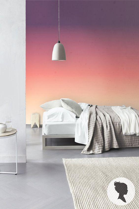 16 besten akzentwand bilder auf pinterest wandmalereien w nde streichen und wand ideen. Black Bedroom Furniture Sets. Home Design Ideas