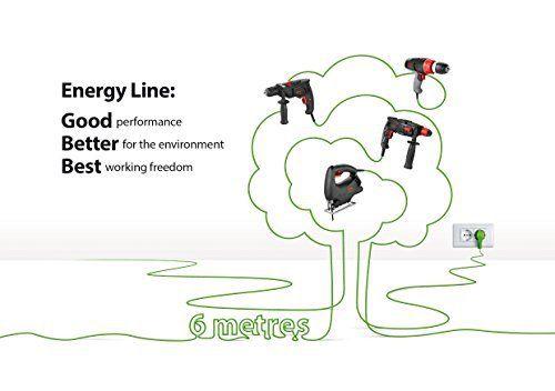 Skil 6224AA Energy Line Perceuse Visseuse avec fil à 2 Vitesses (Câble de 10 mètres, 38 Nm, Mandrin Autoserrant Métal): Price:69.9Vitesse à…