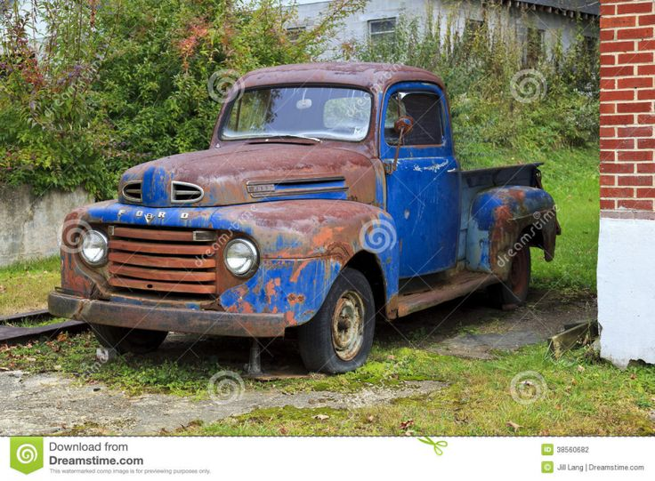 Rusty Blue Cl Ic Old Ford Pickup Truck Front View Gary Mays Pinterest Ford Pickup Trucks Ford And Photography