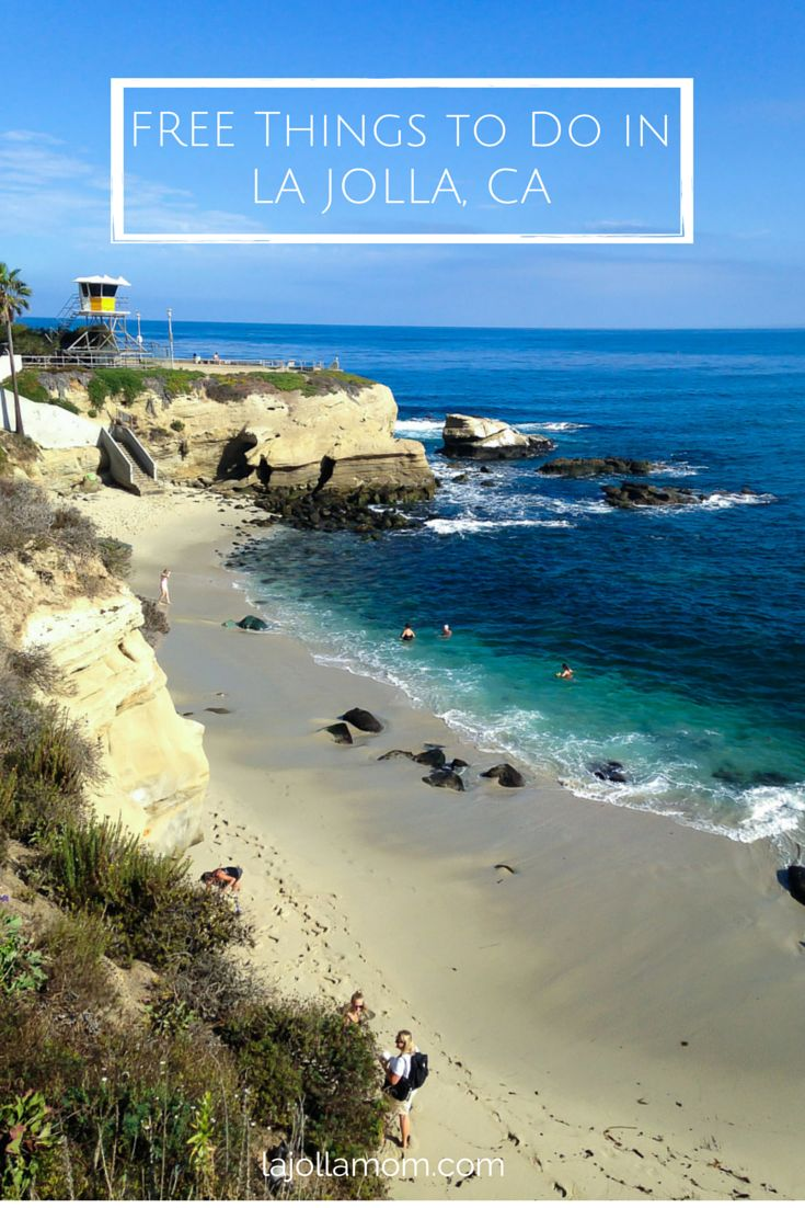 A list of free things to do in beautiful seaside La Jolla, California.