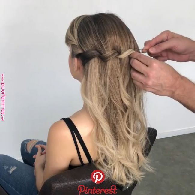 154 Easy Updos For Long Hair And How To Do Them Style Easily Buzztmz Hair Tutorials Easy Long Hair Styles Hair Videos