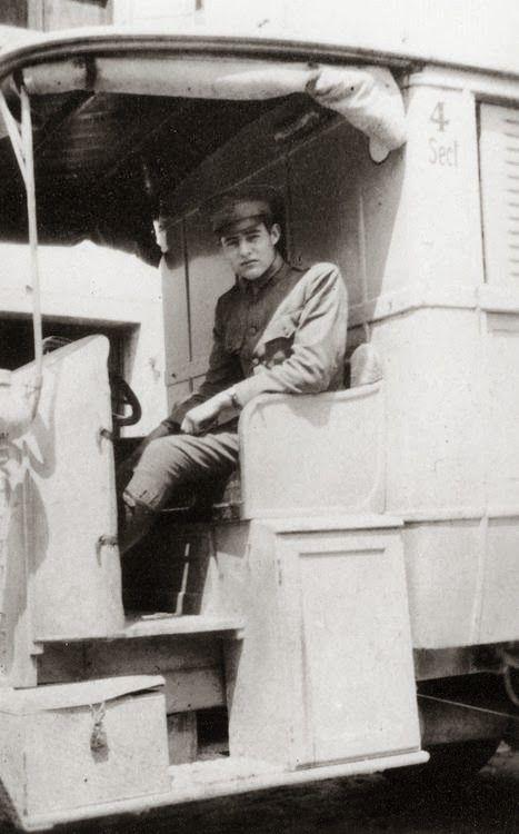 Hemingway in Italy, 1918