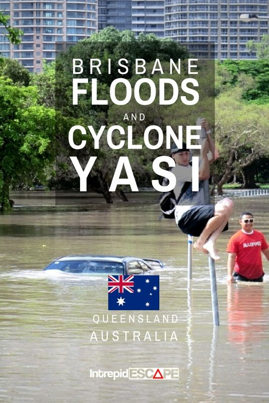 BRISBANE FLOODS AND CYCLONE YASI IN #QUEENSLAND #AUSTRALIA
