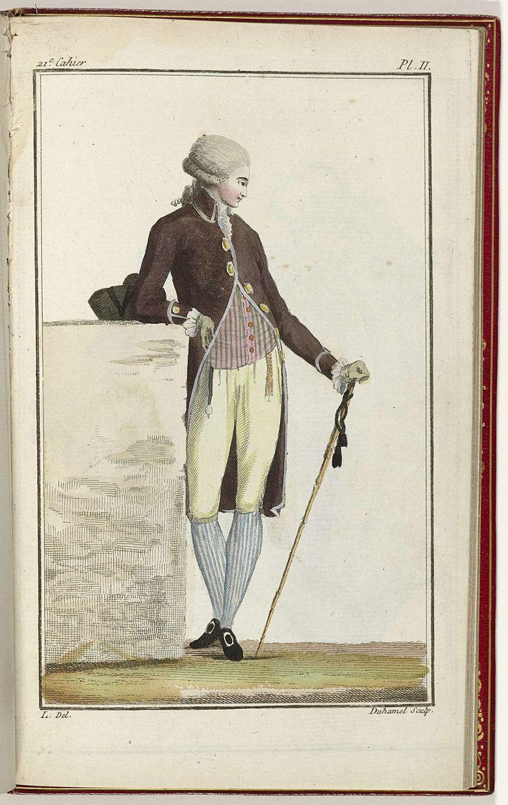 Cabinet des Modes ou les Modes Nouvelles, 15 Septembre 1786, pl. II, A.B. Duhamel, L, Buisson, 1786