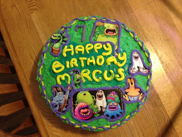 Monster Birthday Cake Ideas
