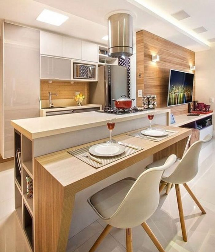 les 25 meilleures id es de la cat gorie cuisine en longueur sur pinterest cuisine moderne. Black Bedroom Furniture Sets. Home Design Ideas