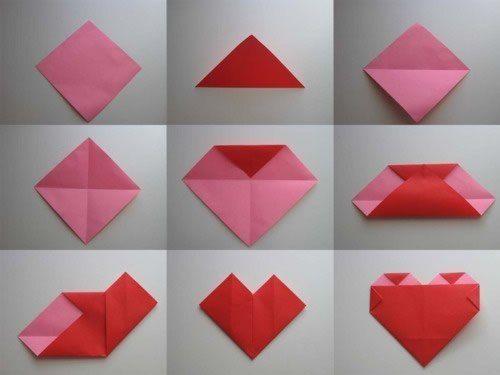 como hacer un corazon de papel infladas paso a paso - Buscar con Google