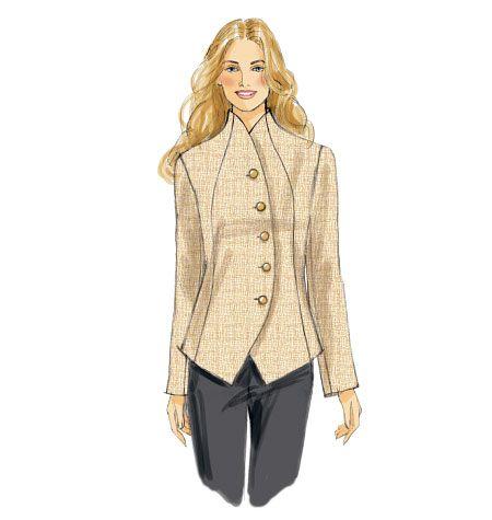 63 besten Patterns - Jackets Bilder auf Pinterest | Näharbeiten ...