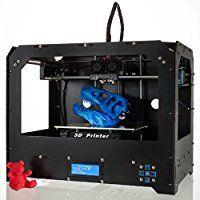 CTC Bizer Pro Desktop 3D Drucker, Mk8 Dual Extruder LCD, 2016 Verbesserte Voll Qualität High Precision 3D printer, Factory Direct Der niedrigste Preis, mit kostenlos PLA Glühfaden