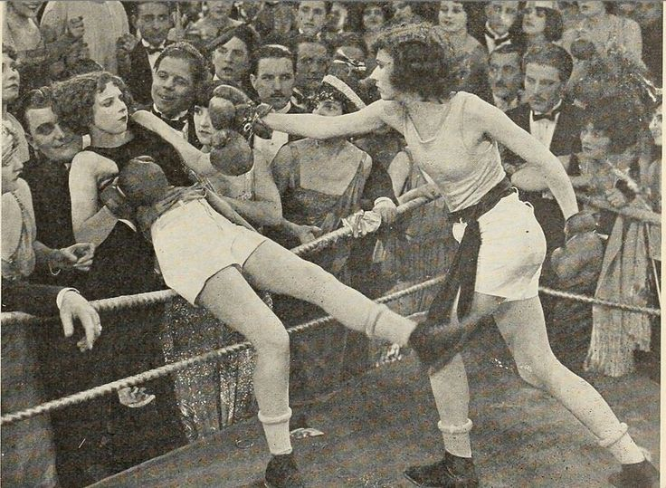 @Rachel Plager and I are boxing today! I hope we'll look as fabulous as these ladies.
