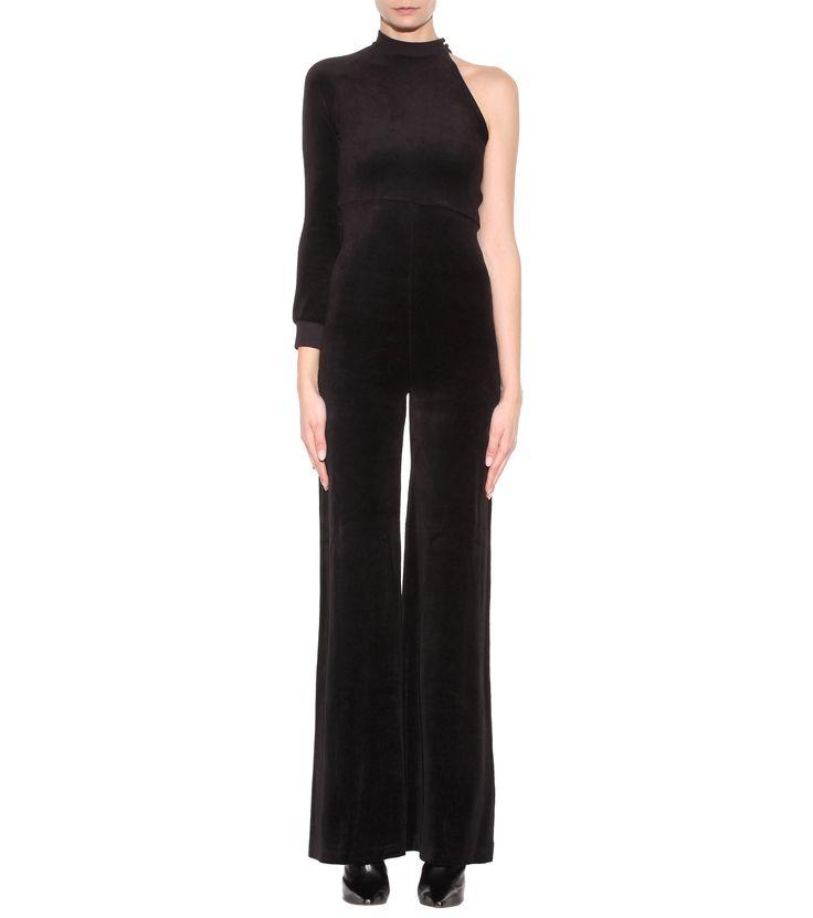 X Juicy Couture black velour jumpsuit