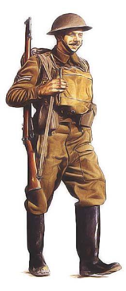 Caporal-chef, Hampshire Regiment, 1940
