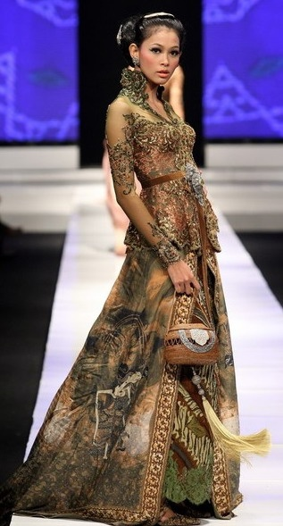 In Indonesia, batik is high fashion!