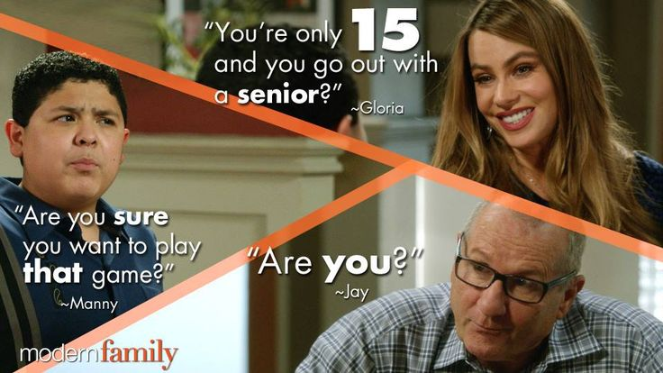 "S6 Ep4 ""Marco Polo"" - Young love never gets old...watch #ModernFamily TONIGHT at 9
