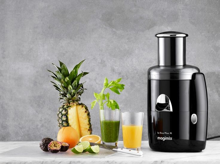 Nyd morgenen med Duo XL og Duo Plus XL. Effektive saftpressere, der producerer frisk juice på et øjeblik. Stor saftcentrifuge til alle typer frugt. Maskinerne presser al saft ud af frugten, hvorefter den ledes direkte ned i glasset. #inspirationdk #køkken #køkkenudstyr #Magimix #Juice